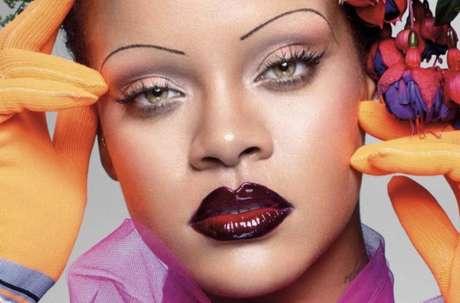 Rihanna foi clicada pelo fotógrafo britânicoNick Knight