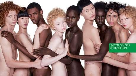 A imagem da nova campanha da Benetton, um manifesto por mais tolerância e igualdade racial