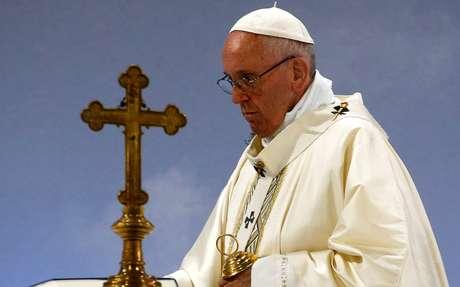 O Papa Francisco, líder máximo da Igreja Católica