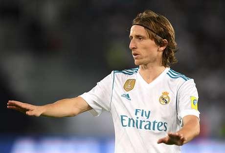 Luka Modric em ação pelo Real Madrid