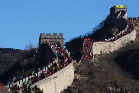 Airbnb selecionaria hóspedes para pernoite na Muralha da China