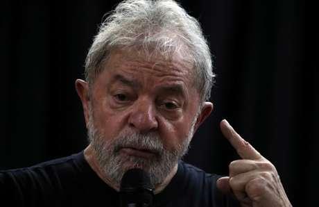Ex-presidente Luiz Inácio Lula da Silva participa de evento em São Paulo, em março 16/03/2018 REUTERS/Paulo Whitaker