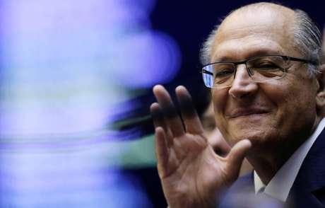 Candidato do PSDB à Presidência, Geraldo Alckmin 25/04/2018 REUTERS/Adriano Machado