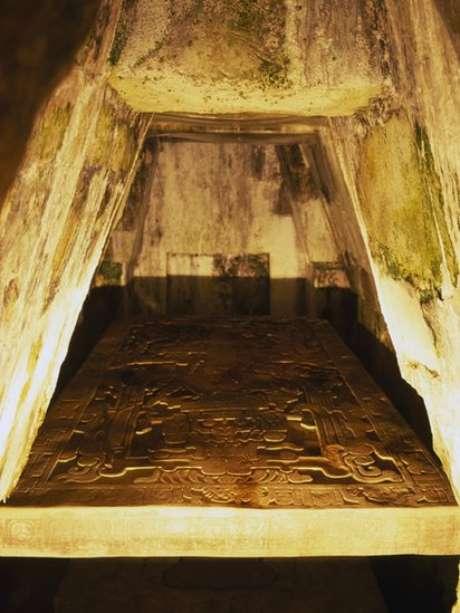 O arqueólogo Alberto Ruz encontrou em 1949 a tumba de Pacal