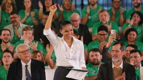 Esta será a terceira vez que Marina Silva disputa a corrida presidencial - mas terá estrutura e tempo de TV menor desta vez
