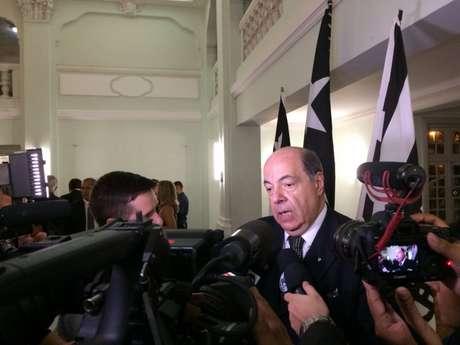 Nelson Mufarrej assumiu a presidência do Botafogo no início deste ano (Foto: Divulgação)
