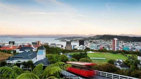 A pesquisa mostra que áreas verdes são boas para moradores urbanos, o que é uma boa notícia para moradores de Wellington, Nova Zelândia
