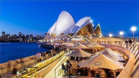 Uma cidade limpa e próxima ao oceano como Sydney, na Austrália, pode ser uma das melhores opções
