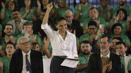Marina Silva vai concorrer pela Rede ao lado de Eduardo Jorge, do PV