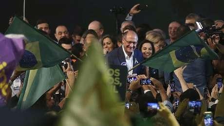 Geraldo Alckmin, do PSBD, costurou ampla aliança com nove partidos