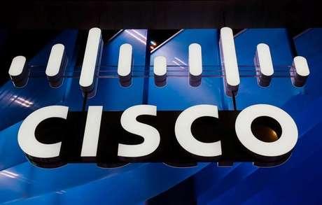Logo da Cisco durante evento em Barcelona, Espanha 27/02/2018 REUTERS/Yves Herman