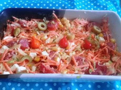 Salada de alho-poró