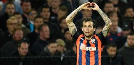 Último clube de Bernard foi o Shakhtar Donetsk (Foto: AFP)