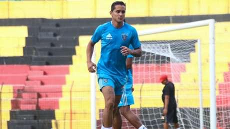 Everton Felipe é um dos desejos da diretoria do São Paulo para substituir o peruano Cueva(Williams Aguiar/Sport Clube do Recife)