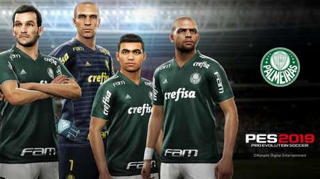 Jogadores do Verdão terão aparência real no videogame - FOTO: Divulgação