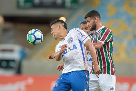 Fluminense e Bahia ficaram em 1 a 1