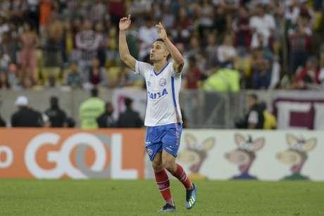 Edigar Junio empatou para o Bahia no segundo tempo