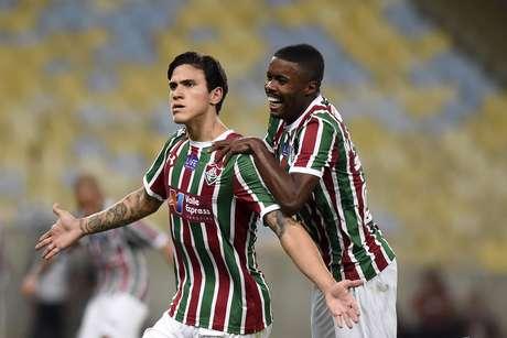 Pedro marcou um golaço pelo Fluminense