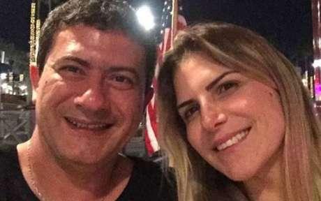 Tom Veiga e Alessandra Veiga ficaram casados por 14 anos.