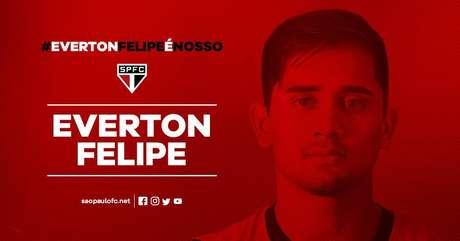 São Paulo confirma contratação de Everton Felipe