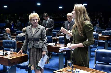 'Esse, sem dúvida nenhuma, é um projeto também de combate à violência que a mulher brasileira sofre', disse a senadora Vanessa Grazziotin