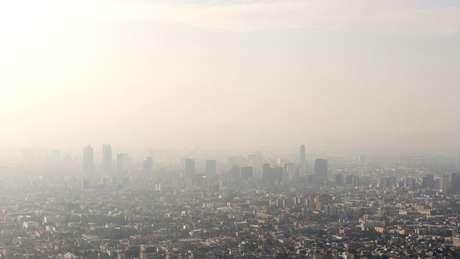A Cidade do México é uma das cidades mais poluídas da América Latina, segundo a OMS
