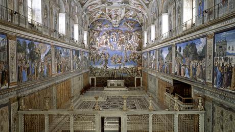 Michelangelo pintou a representação artística do julgamento de Deus | Foto: Divulgação/ Musei Vaticani