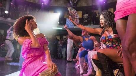 A personagem Angel, interpretada porIndya Moore, é um dos destaques da produção