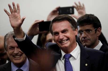 Presidenciável do PSL, deputado Jair Bolsonaro, é um dos líderes nas pesquisas de intenção de voto no estado de São Paulo, em cenário sem Lula