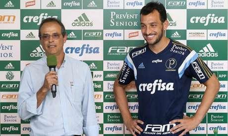 Genaro Marino é vice-presidente desde a gestão Paulo Nobre. Hoje, está distante (Foto: Cesar Greco/Palmeiras)