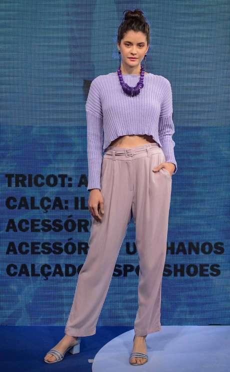 A cor lavanda é uma das principais tendências de verão das lojas do Mega Polo Moda