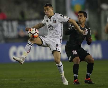 Carmona marcou um gol pelo Colo-Colo