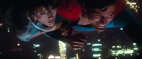 Christopher Reeve e Margot Kidder em 'Superman' (1978)