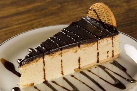 Fatia de torta holandesa