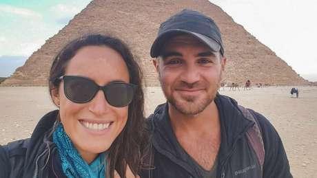 O casal americano começou a aventura sobre rodas em julho de 2017, um ano antes da tragédia