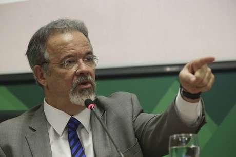 O ministro da Segurança Pública, Raul Jungmann, convocou a imprensa para destacar a gravidade da situação e futuras ações da pasta