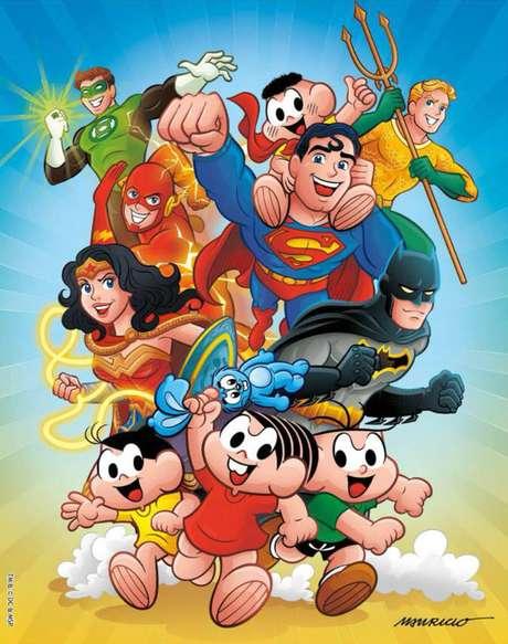 Encontro da Turma da Mônica com os heróis da DC Comics