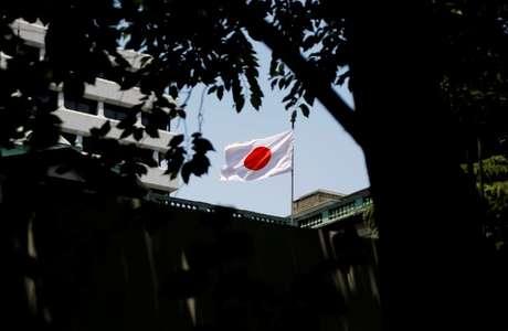 Bandeira do Japão é vista em Tóquio 16/06/2017 REUTERS/Toru Hanai