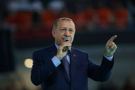 Presidente turco, Tayyip Erdogan, em Ancara 04/08/2018 Murat Kula/Palácio Presidencial/Divulgação via Reuters