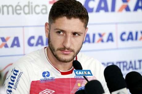 Zé Rafael deve ser jogador do Palmeiras a partir do ano que vem (Foto: Felipe Oliveira/Bahia)