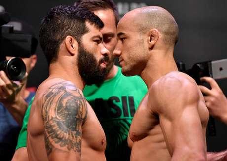 Raphael Assunção e Marlon Moraes já se enfrentaram e agora desafiaram o campeão (Foto: Getty Images/UFC)