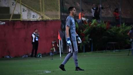 Ronaldo foi o goleiro mais jovem a entrar em campo na última rodada do Brasileirão (Foto: Divulgação)