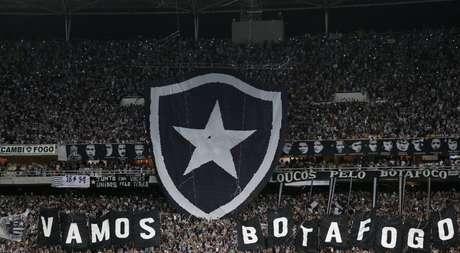 Torcida do Botafogo: promessa é de festa similar a da Libertadores de 2017 (Foto: Vitor Silva / SS Press / BFR)