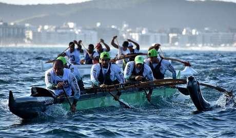 O Va'a Pro Brasil reunirá a elite da canoagem em sua primeira etapa (Foto: Divulgação)