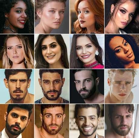 Alguns candidatos a Miss e Mister CNB 2018