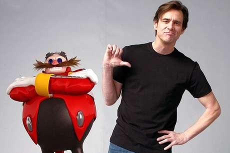 Jim Carrey será o Robotnik
