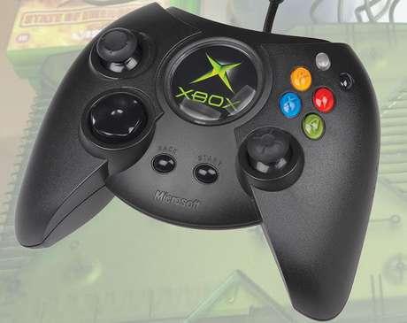 Este foi o controle original do Xbox