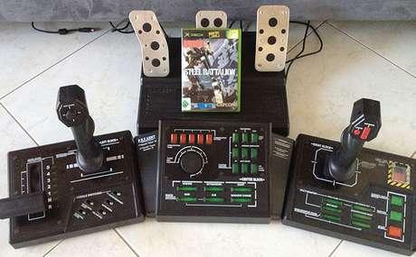 Steel Battalion transformava seu Xbox em um painel para robôs gigantes