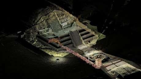 Especialistas dizem que túnel descoberto sob as pirâmides de Teotihuacán nunca será aberto ao público