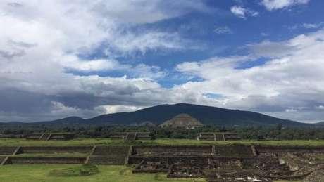 Teotihuacán chegou a ter uma área de 23 km quadrados e entre 150 mil e 200 mil habitantes